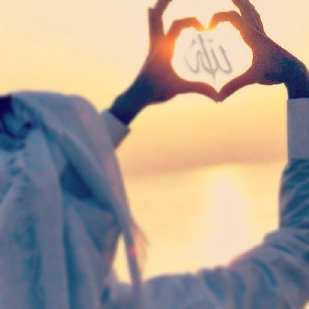 She loves Allah <3