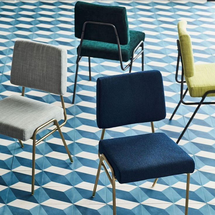 A Shapely Swivel Seat Inspired By Mid Century Design Our: 25+ Best Ideas About Metal Dining Chairs On Pinterest