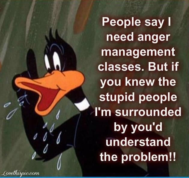 Stupid People Funny Quotes Quote Lol Funny Quotes Looney Tunes Funny Sayings  Daffy Duck
