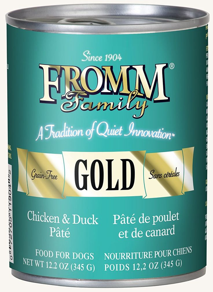 Fromm Gold Chicken and Duck Pate Wet Dog Food 12.2