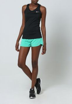 Nike Performance - RIVAL - Shorts - emerald glow/reflective silver