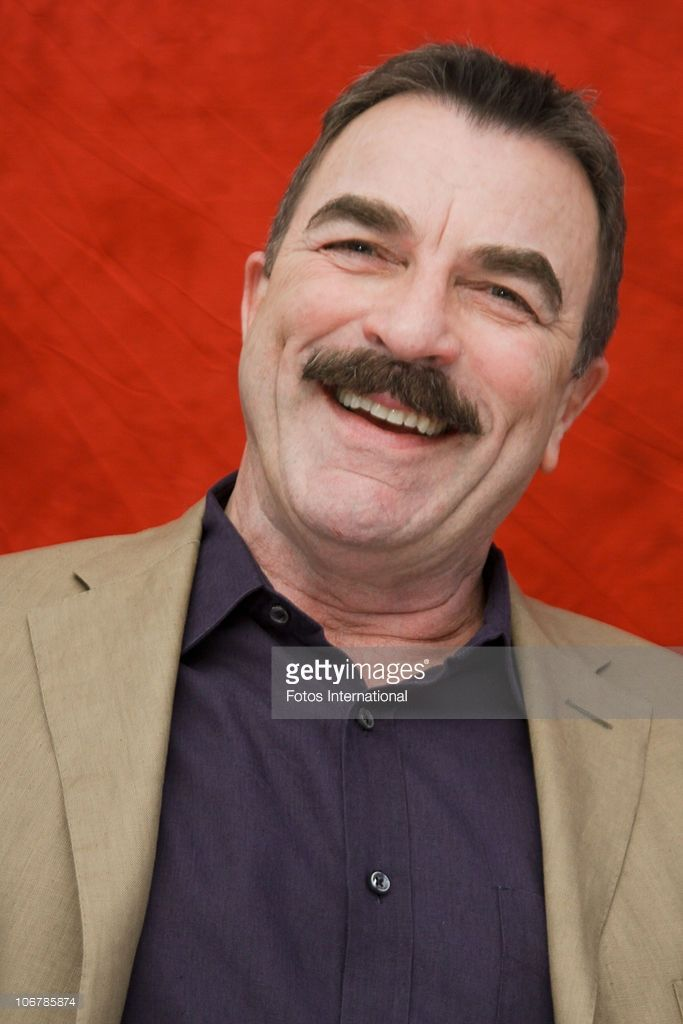 Tom Selleck poses for a photo during a portrait session in West Hollywood, California on August 16, 2010. (Photo by Munawar Hosain/Fotos International/Getty Images) Reproduction by American tabloids is absolutely forbidden.