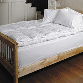 Found it at Wayfair - Feather Bed with Goose Down Pillow Topper