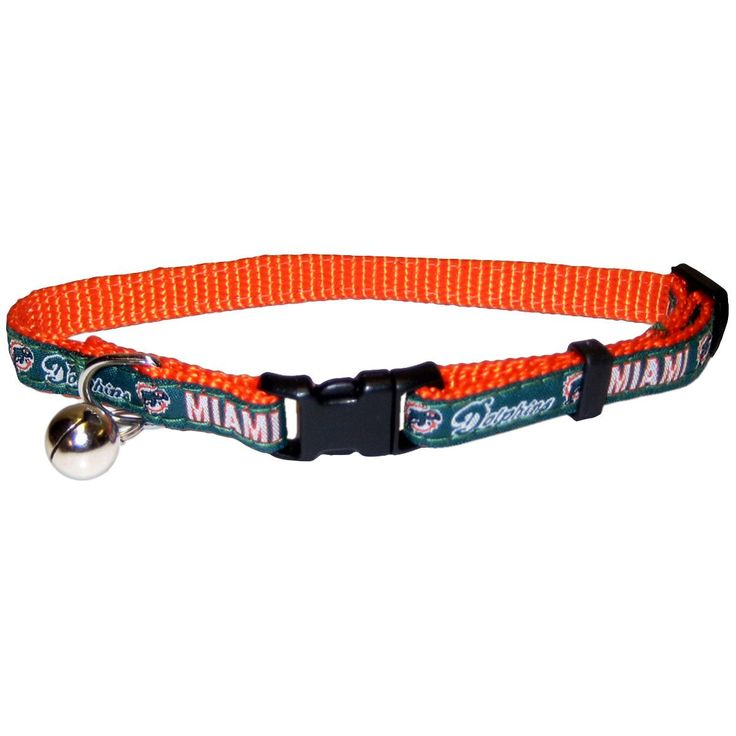 Miami Dolphins Cat Collar