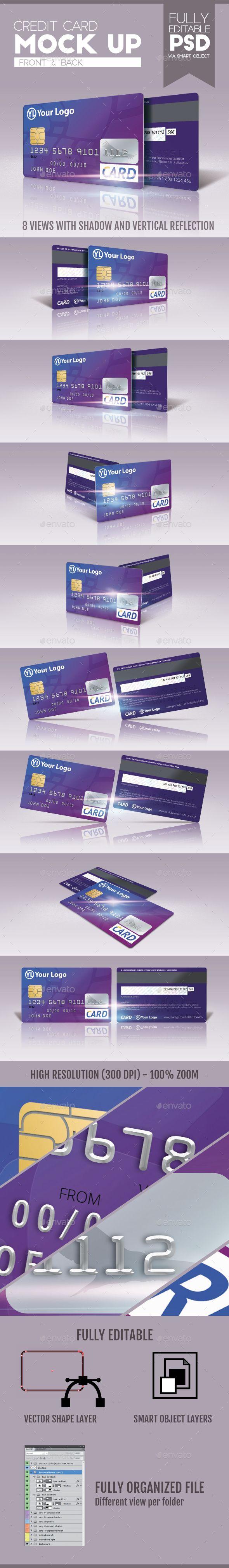 Credit Card Mock-Up #design Download…