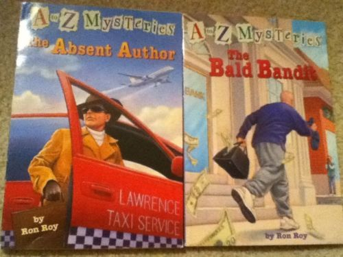 A to Z mysteries book lot of 17!!