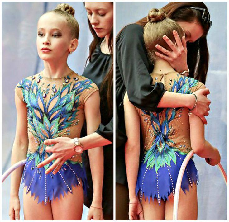 Rhythmic gymnastics leotard (photos by Dmitry Kornev)