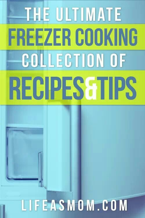 Collection of freezer meals