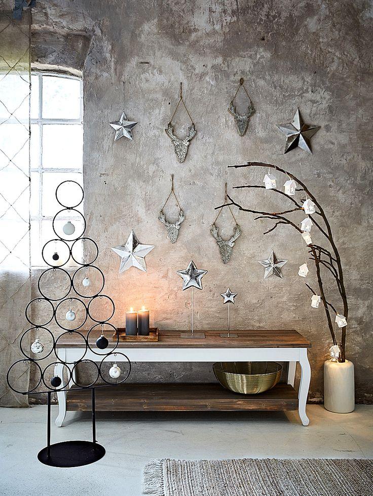 25 einzigartige metall weihnachtsbaum ideen auf pinterest. Black Bedroom Furniture Sets. Home Design Ideas