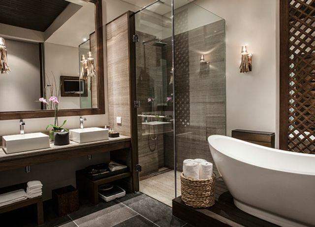 17 meilleures id es propos de salles de bains de luxe sur pinterest salles de bains for Photo de salle de bain design