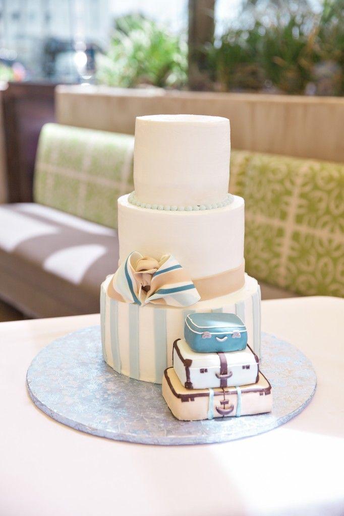 Baby Boy Shower Cake, Travel Theme, No Rest For Halleigh Blog