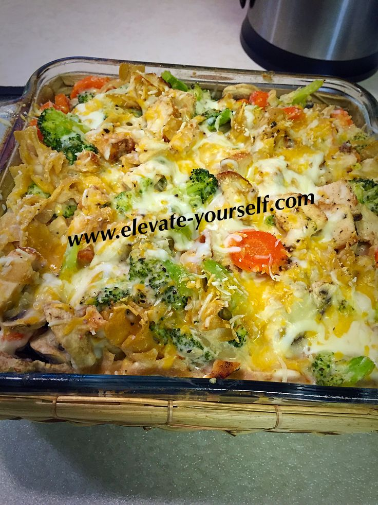 21 Day Fix Approved Buffalo Chicken Veggie Bake Casserole