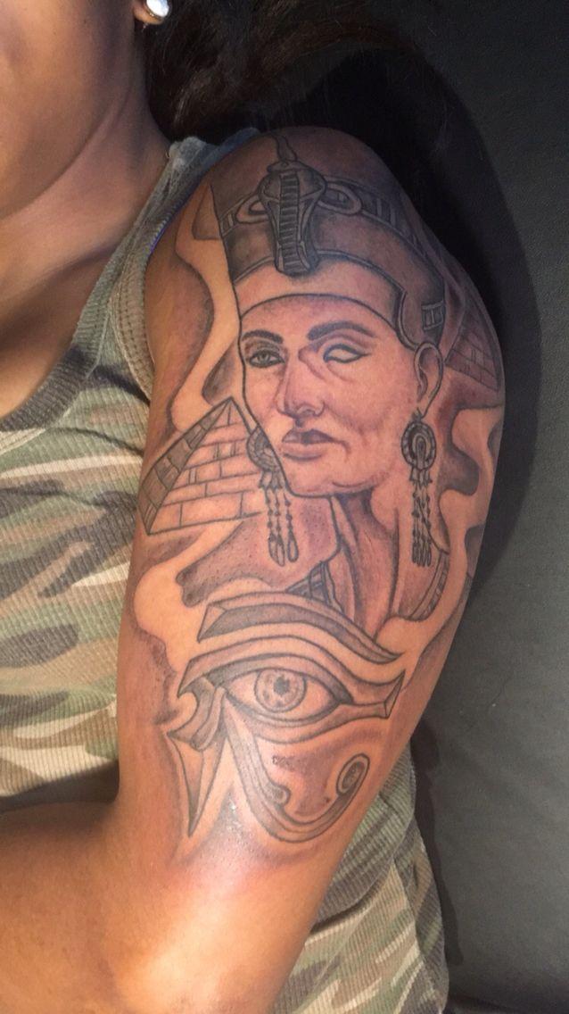 My Queen Nefertiti Tattoo