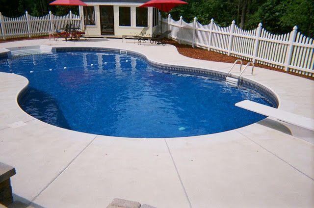 Incredible inground pool kits design with concrete pool - Cheap inground swimming pool liners ...