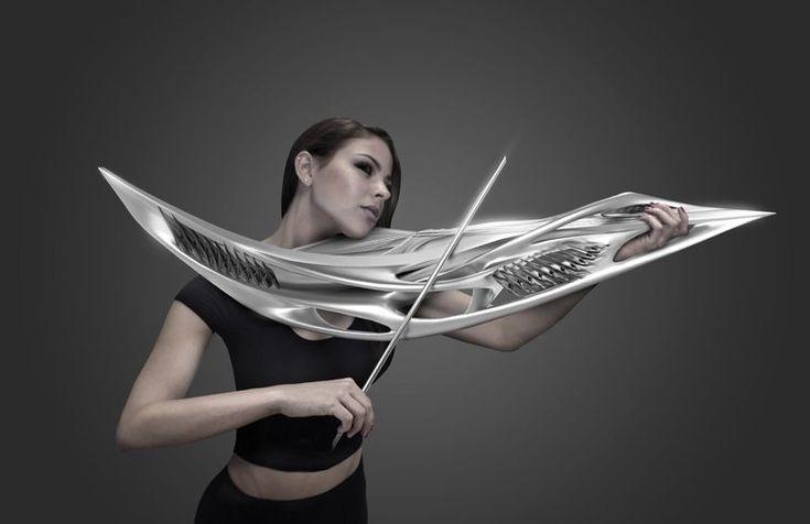 MONAD Studio – 2-string Piezoelectric Violin