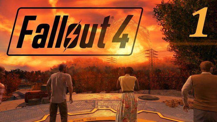 Fallout 4 прохождение. Добро пожаловать домой. Начало.