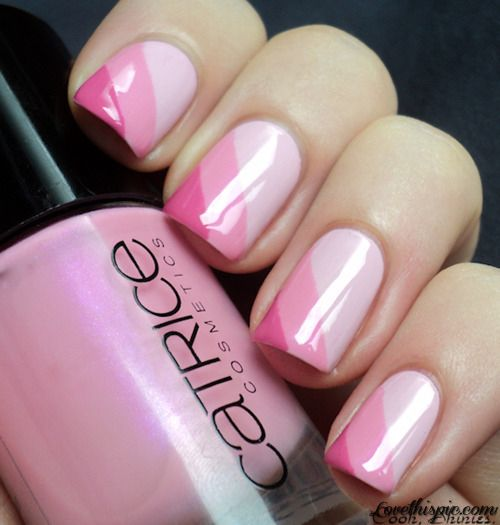 Triple pink shaded nails pictures photos and images for facebook triple pink shaded nails pictures photos and images for facebook tumblr pinterest and twitter pinterest life pinterest hot pink nails pink nails prinsesfo Choice Image