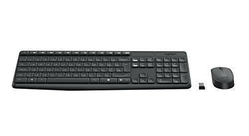 Oferta: 22.95€. Comprar Ofertas de Logitech MK235 - Teclado y ratón inalámbrico, color negro barato. ¡Mira las ofertas!
