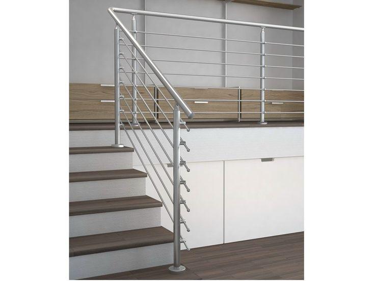 baranda de escalera de acero inoxidable coleccin basic by wolfsgruber