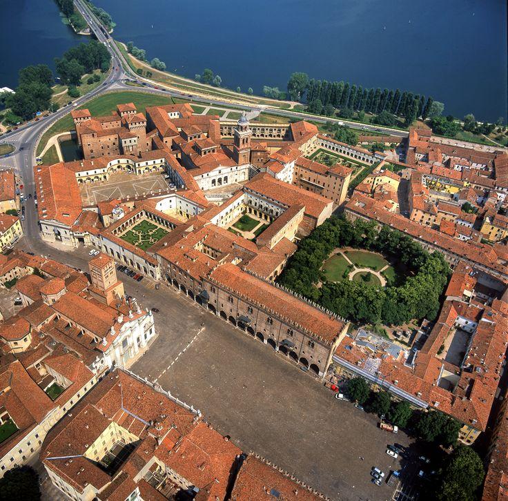 Palazzo Ducale, veduta aerea Foto di Roberto Merlo