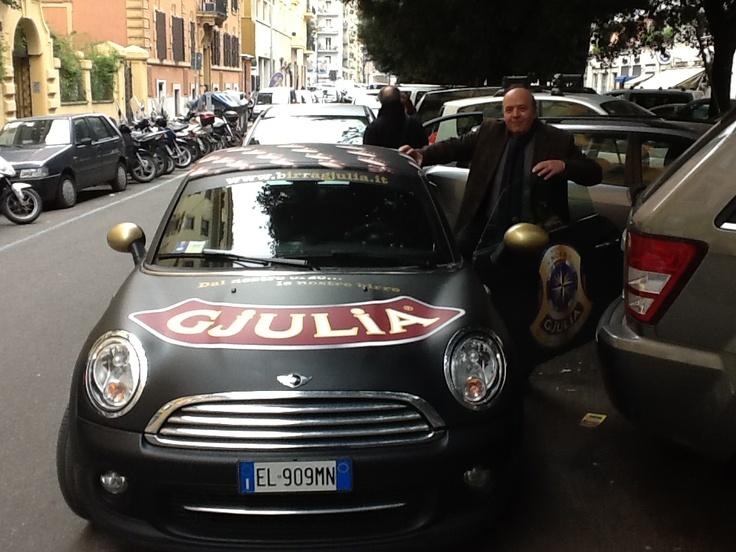 La Mini Gjulia a passeggio per Roma @enotecavittoria