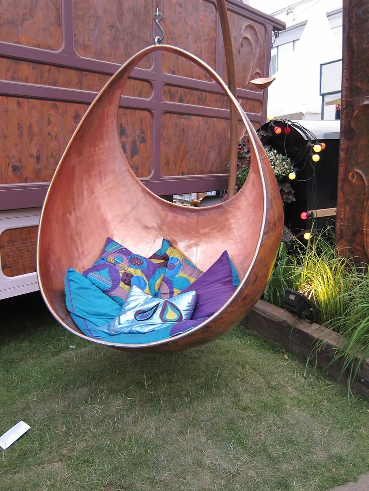 kids hanging chair for bedroom%0A Copper hanging chair by Steve Myburgh at Chelsea