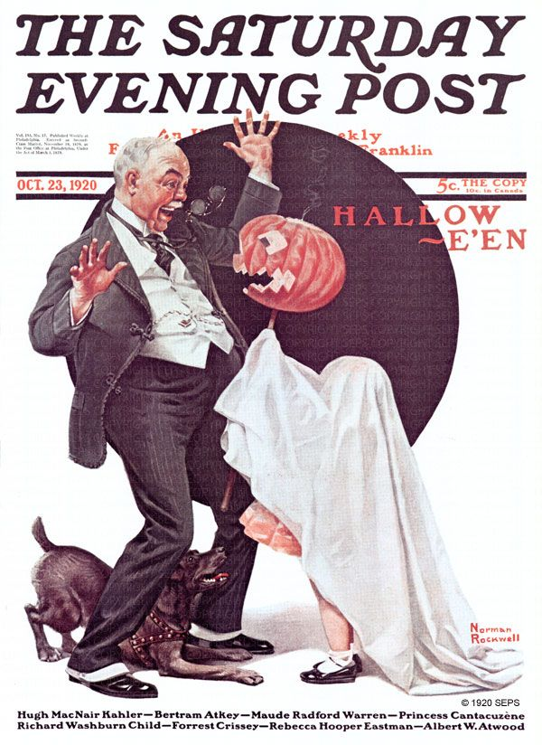Halloween (Norman Rockwell, October 23, 1920)                                                                                                                                                                                 More                                                                                                                                                                                 More
