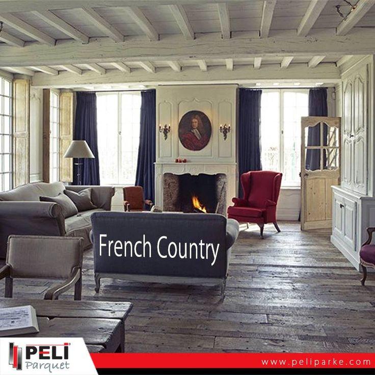 Fransız stili Vintage ve Country tarzı dekorasyon klasik dekorasyona yakındır ama modern mobilyalarınızı bu stille birleştirebilirsiniz. #home #french #country #peli