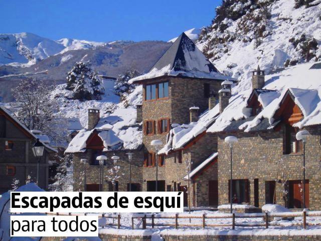 Ofertas de Viaje de ultima hora: Escapadas de esquí baratas y para todos: ofertas d...