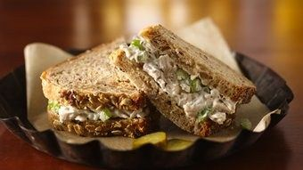 Chicken Salad with Grapes, Cashews, Apples and Fresh Dill recipe from Betty Crocker