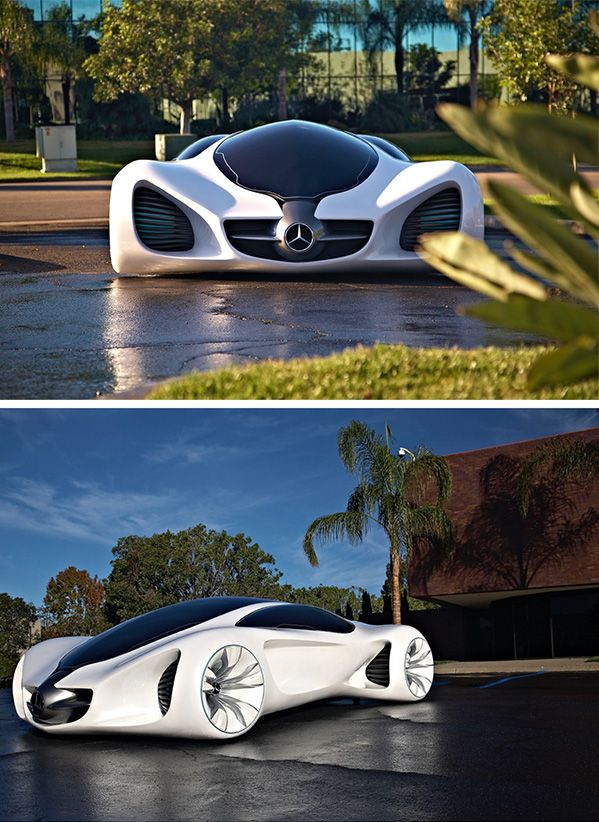 The Mercedes-Benz BIOME – an ultralight vehicle at one with nature. Photos by Gorden Wagener.