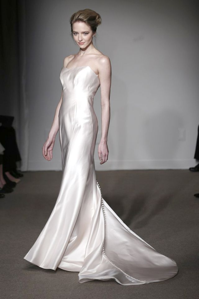 Bridal Week 2014 : la robe de mariée du défilé Anna Maier
