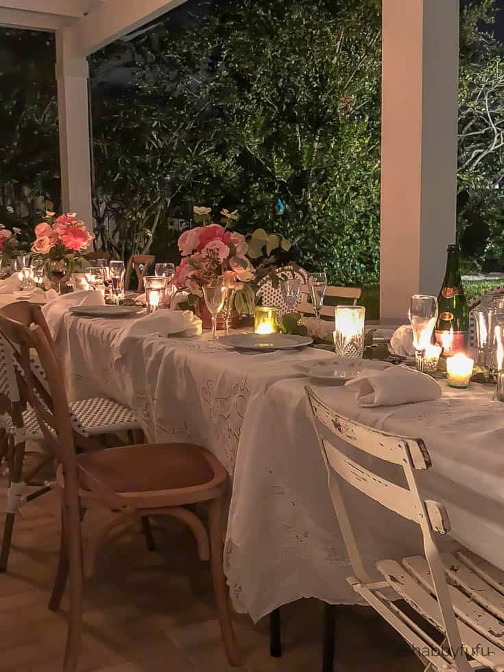 Beautiful Affordable Wedding Reception At Home Tablescapes Special