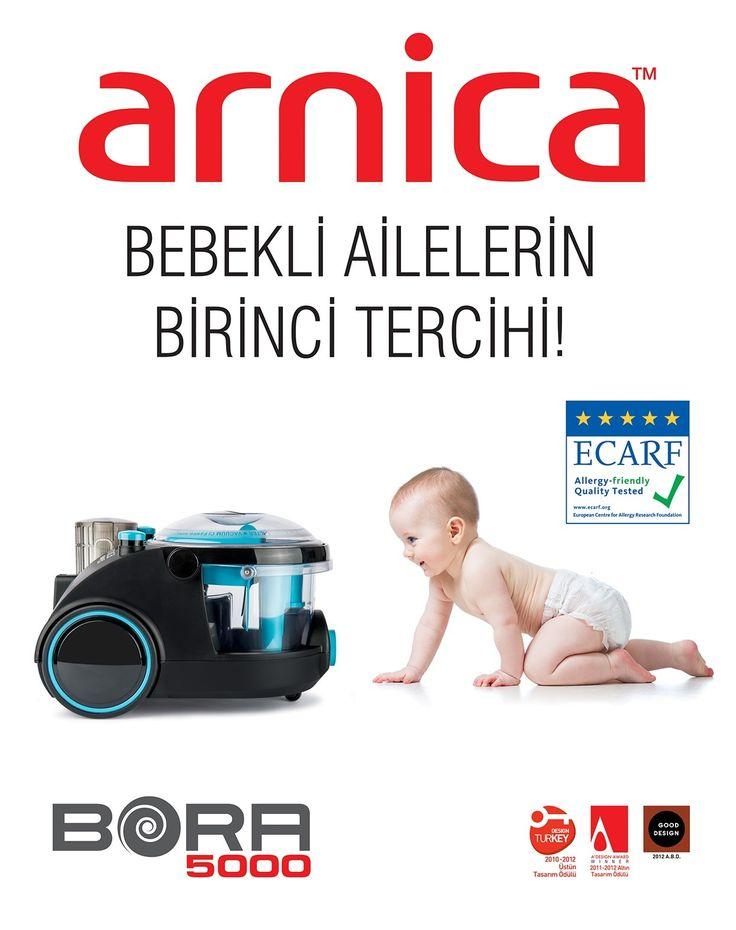 Arnica Bora 5000 Su Filtreli Elektrik Süpürgesi :: Orkun Bilgisayar