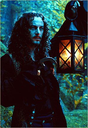 One of my favorite villains- Jason Isaacs as Captain Hook. I really enjoyed that Peter Pan  movie...