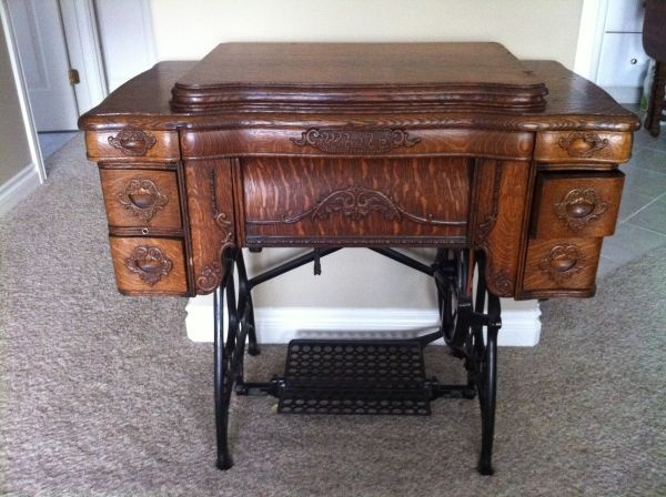 101 best treadle sewing machines images on pinterest treadle antique white treadle sewing machine sciox Choice Image
