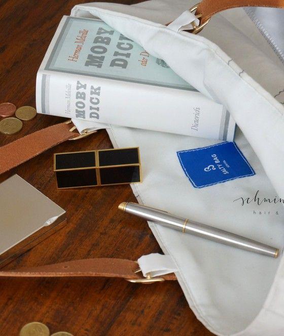 Aus altem Segel mach stylishe Tasche. Das ist griechisches Design mit Nachhaltigkeit. Das ist Salty Bag. Ich zeige euch mein liebstes Urlaubs-Mitbringsel.