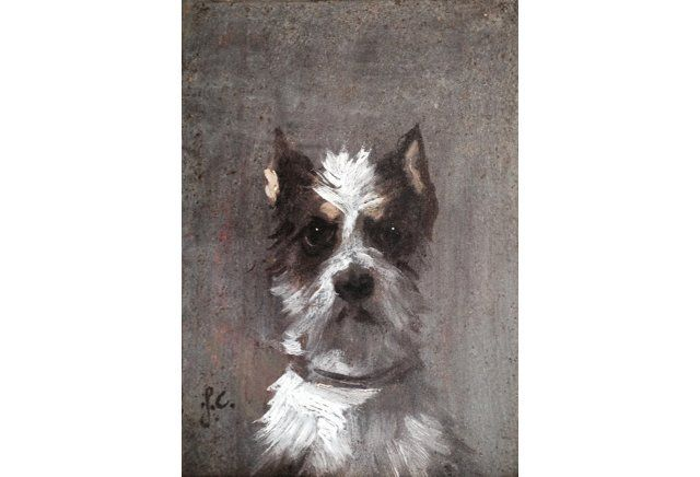 Dog Portrait, 19th Century