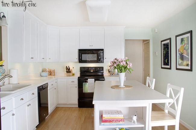 kitchen cabinets and island 5