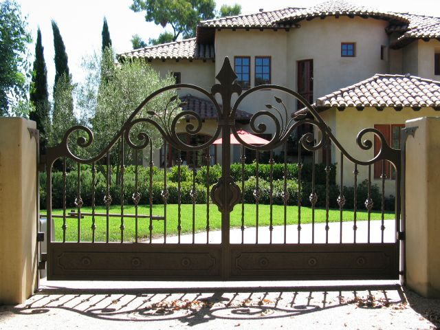 Wrought iron gate design catalogue google search Metal gate designs images