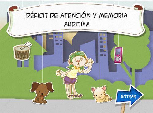 DÉFICIT DE ATENCIÓN Y MEMORIA AUDITIVA. En Agrega.