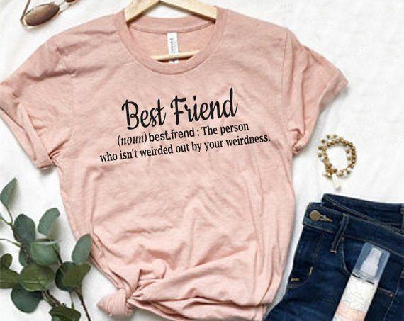 bf431970 Best Friend Shirts, Best Friend Gift, BFF Shirt, Bestie Shirts, Best Friend  Birthday Gift, Gift for Her