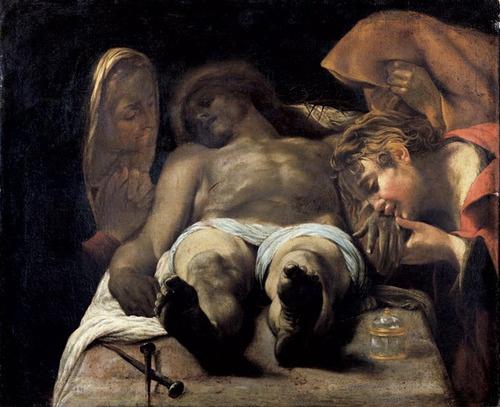 maralie:    Orazio Borgianni, The Lamentation, c. 1612