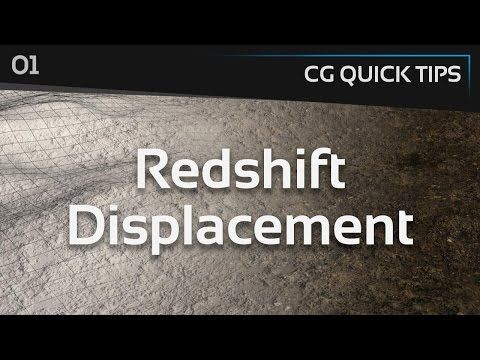 Redshift Displacement - CG Quick Tips #1 - YouTube