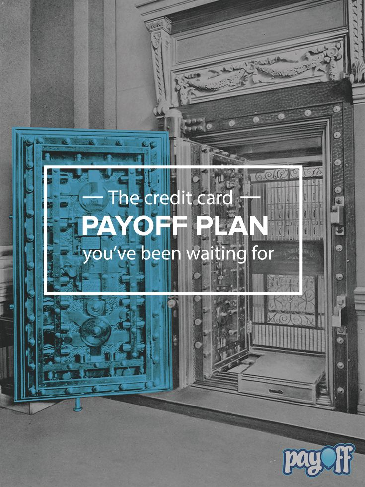 You refinance your mortgage, so why not your credit card payments? With Payoff, you have bank-level security without the bank attitude. Apply now! http://www.payoff.com/?utm_source=pinterest&utm_medium=psocial&utm_campaign=1506_socPIN&utm_content=26.14P