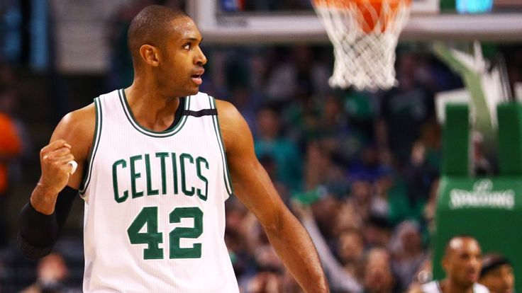 Max effort: Al Horford showing he's worth his salary this postseason #FansnStars