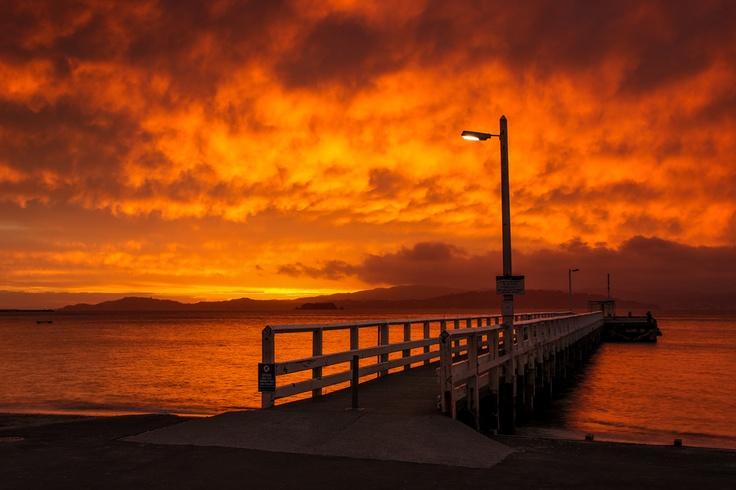 """Day's Bay"", Wellington, New Zealand"