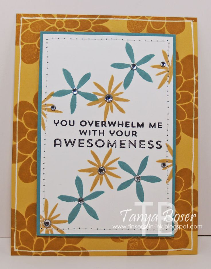 Tinkerin In Ink with Tanya: Stamp Review Crew: Flower Patch Edition
