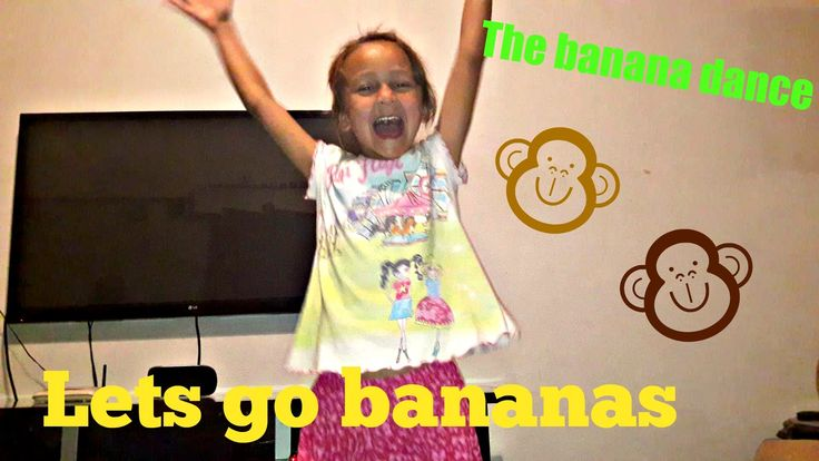 The banana dance with Zigi   Laughing for her funny dance moves   She to...