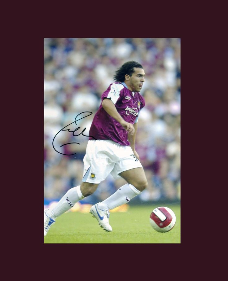 COMPETITION TIME FOR FANS OF CARLOS TEVEZ